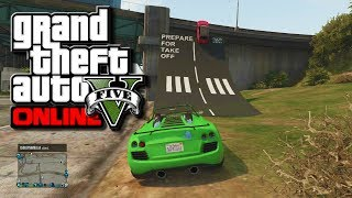 GTA 5 Online - BEST Jump Spot In The Game