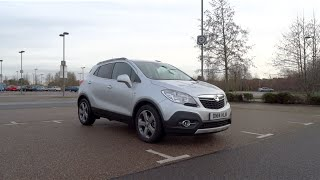 2014 Vauxhall Mokka 1.7 CDTi 16v 130 S/S 4X4 SE Start-Up and Full Vehicle Tour