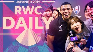Rugby World Cup Daily | Episode 2 | Bryan Habana's Springbok Army Video