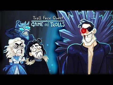 ЗАТРОЛЛИЛ ИГРУ ПРЕСТОЛОВ! ТЕРМИНАТОР в ГЛАВНОЙ РОЛИ Весёлая игра Troll Face Quest Game of Trolls