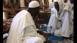 الشيخ البرعي مع ضيوفه في الزريبة