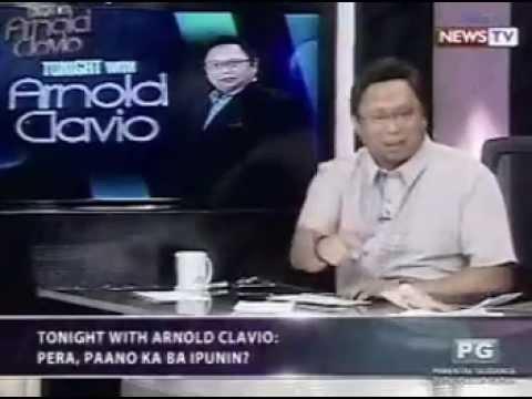 FJC in Tonight with Arnold Clavio - Pera, Pano ka ba iipunan?