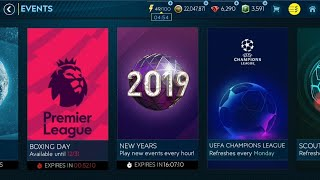 FIFA MOBILE 19 #11 - EVENT NEW YEAR - NOWY ROK 2019 / WBIJAM OVERALL 100 NA KONIEC ROKU !?!
