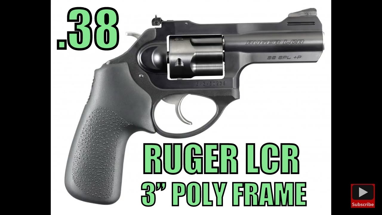 New Ruger Lcr X 3 38 Special P Polymer Frame Concealed