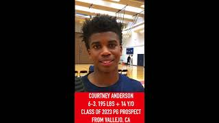 Courtney Anderson: 2019 USA Basketball Junior Minicamp Interview