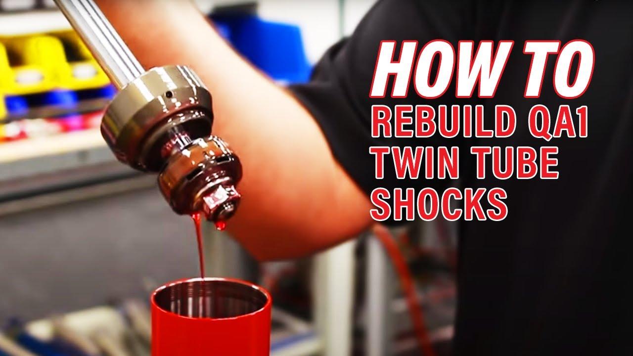 Rebuilding a QA1 Circle Track Twin Tube Shock - QA1 Tech
