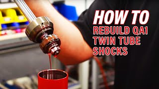 Rebuilding a QA1 Circle Track Twin Tube Shock - QA1 Tech