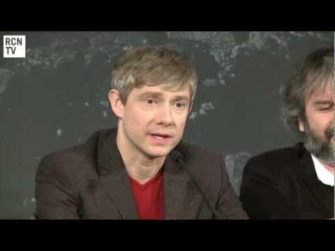 Martin Freeman & Peter Jackson Interview - Casting Bilbo Baggins - The Hobbit An Unexpected Journey
