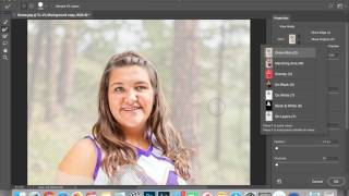 Photoshop cc Select and Mask Not Working, Need Help!