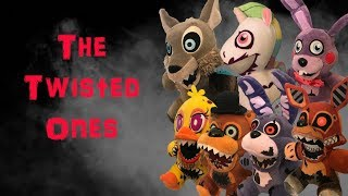 Fnaf Plush-The Twisted Ones