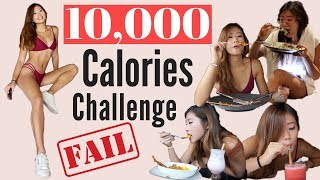 10,000 CALORIE CHALLENGE | Girl VS Food | Epic Travel Cheat Day in Bali 挑戰一萬卡路里 | 巴里島吃貨之旅