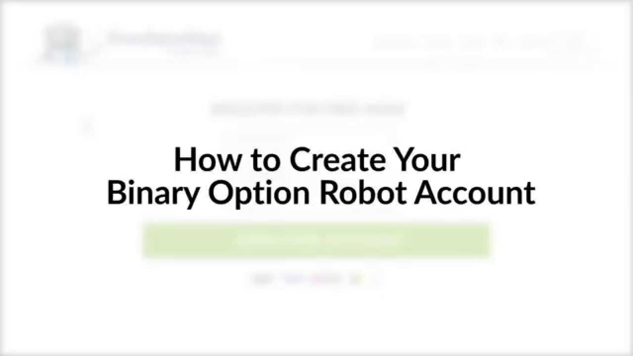 Binary options robot youtube