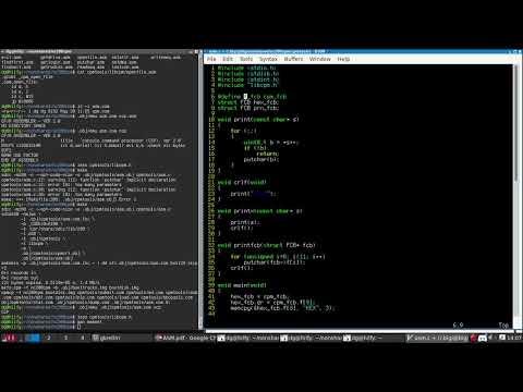 Live coding an assembler for CP/M