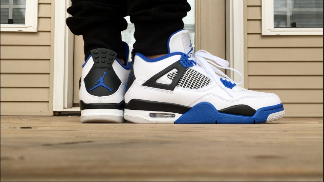 87e5bfe1a13fe6 2017 AIR JORDAN 4 MOTORSPORT ON FOOT !!! - YouTube