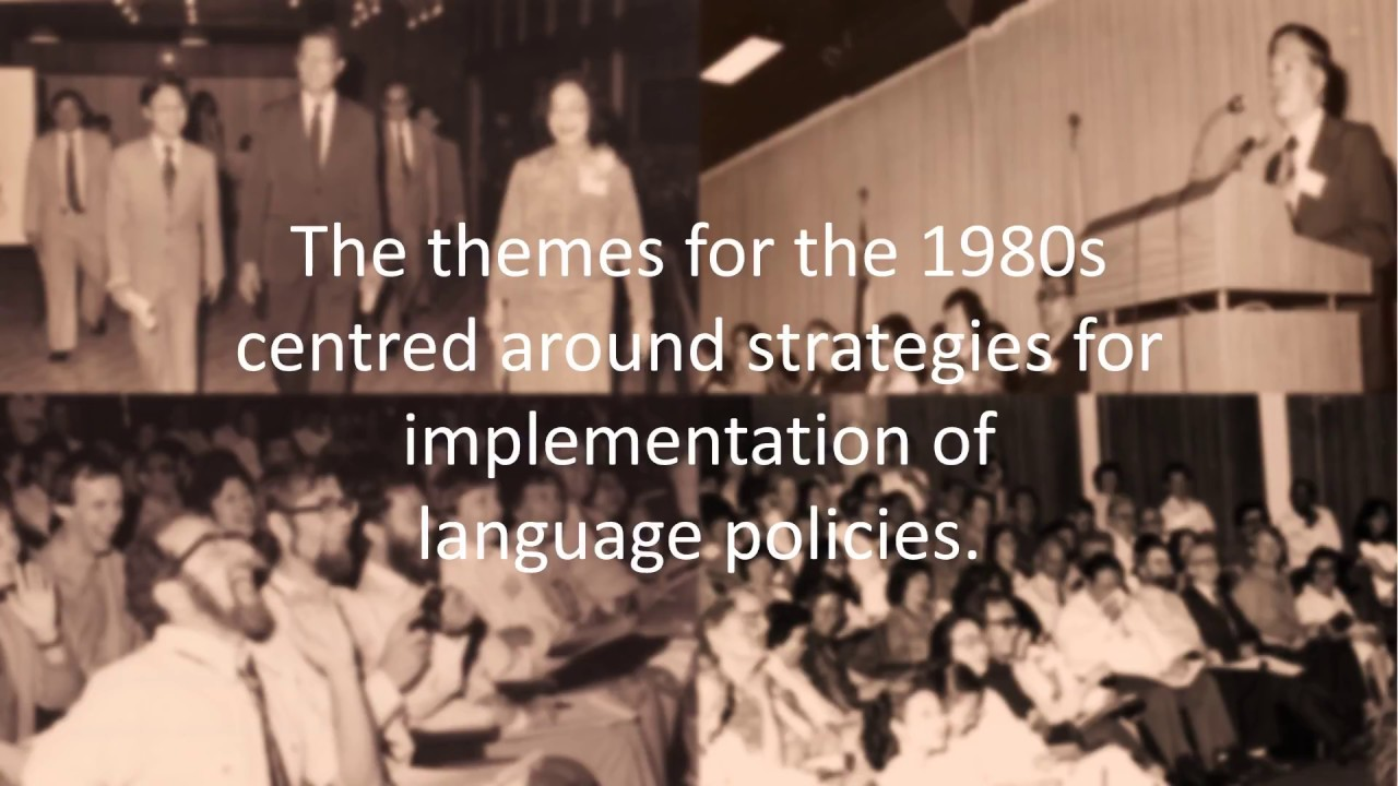 SEAMEO RELC 50th Anniversary Celebrations 2018: Seminar Themes Over 50 years