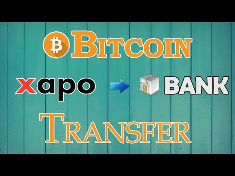 Xapo To Bank - Xapo To Zebpay - Bitcoins Transfer Exchange To Indian Rupee For Indian Users
