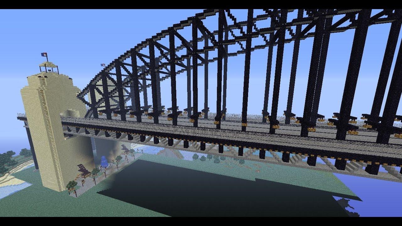 Sydney Harbour Bridge Minecraft MiTcH YouTube