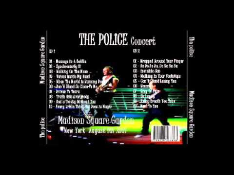 "The Police , New York 01-08-2007 ""Madison Square Garden"" (Full Audio Show)"