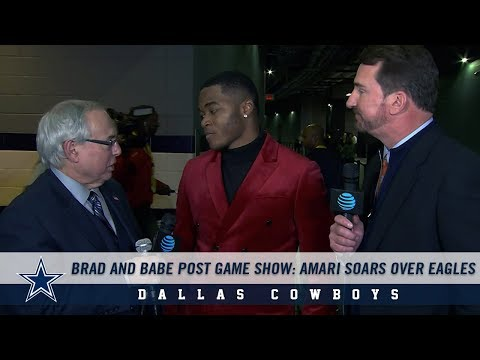 Brad and Babe Post Game Show: Amari Soars Over Eagles | Dallas Cowboys 2018