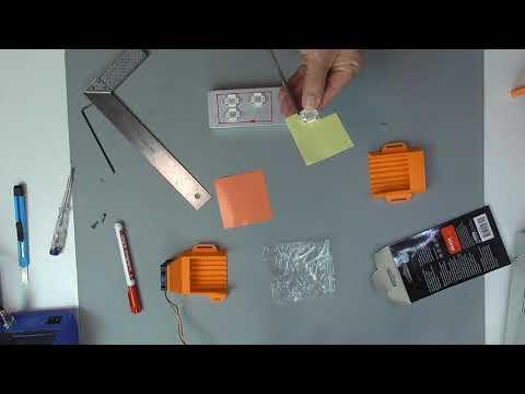 DIY: FDM-printed SLA-Printer: Part 8 - Building the UV-Box