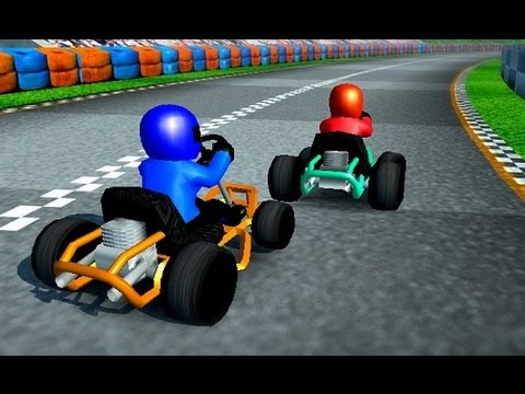 Games for kids, free car racing videos to play
