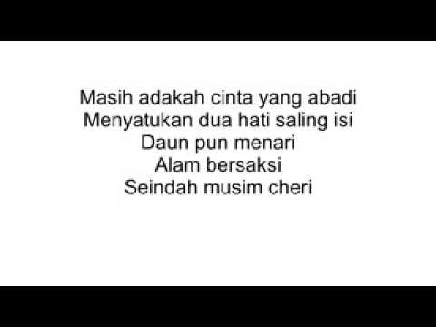 Lagu cinta di musim cherry  versi indonesia ~ fULL lirik  romantic   YouTube 360p