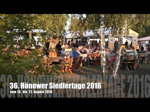 Eröffnet! 36. Siedlertage in Hönow (MOL)