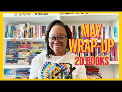 MAY WRAP UP ♡ 20 BOOKS