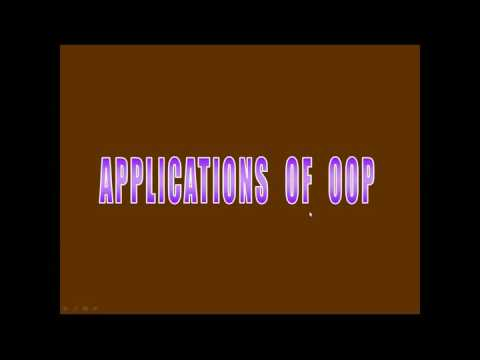 06 OOPS Benefits & Applications
