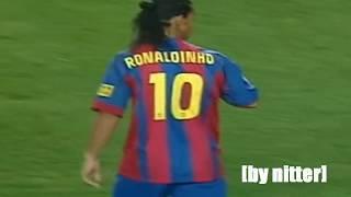 Ronaldinho vs Real Sociedad 2004-2005 [by nitter]