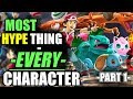 The MOST HYPE thing about EVERY CHARACTER   Part 1 - Super Smash Bros. Ultimate