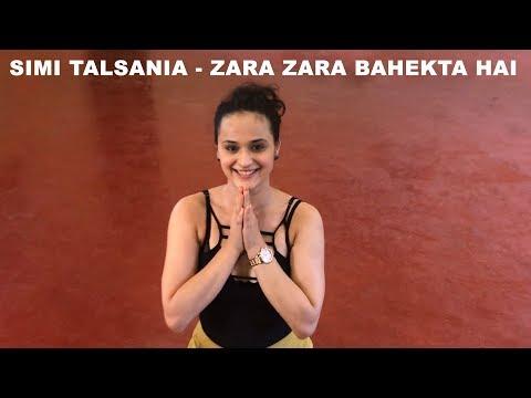 Simi Talsania - Zara Zara Bahekta Hai   GOA workshop   Dance Plus 3