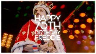 Happy Birthday, Freddie! #Freddie75