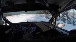 OP-rallisprint Marttila 27.1.2019. Tero Lehto Ford Fiesta R2, 1.kierros
