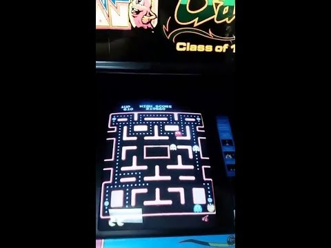 Arcade Ms. Pac-Man FB Live Stream - High Score Attempt