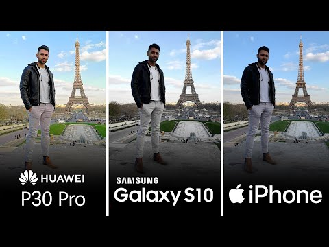 Huawei P30 Pro Vs Samsung S10 Plus Vs IPhone XS Max Camera Test Comparison