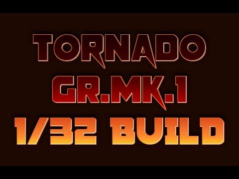 #1 1/32 Tornado GR. Mk. 1 RAFを作る【高解像度】【レジンコクピット編/Cockpit】