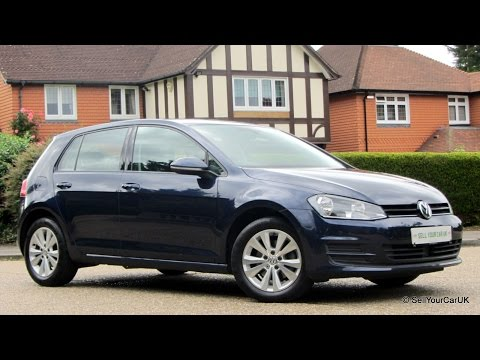 SOLD EXCLUSIVELY USING SELLYOURCARUK - 2013 VW Golf 1.4 TSI DSG 5dr with Park Pilot including Demo