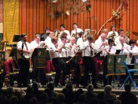 Musikverein Vellmar Konzert  2011 - Maske in Blau (Dia-Show) .wmv