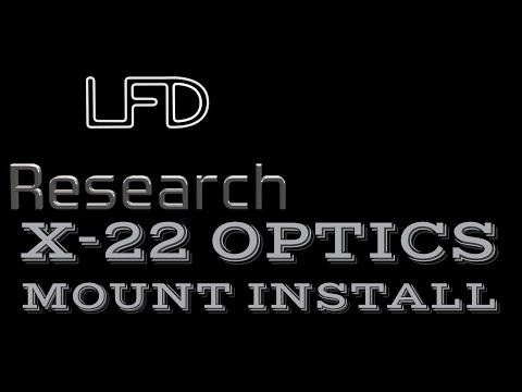 X-22 Backpacker Optics Mount Install 4K