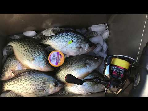 High Rock Lake - trouble catching crappies? USE THIS!!!