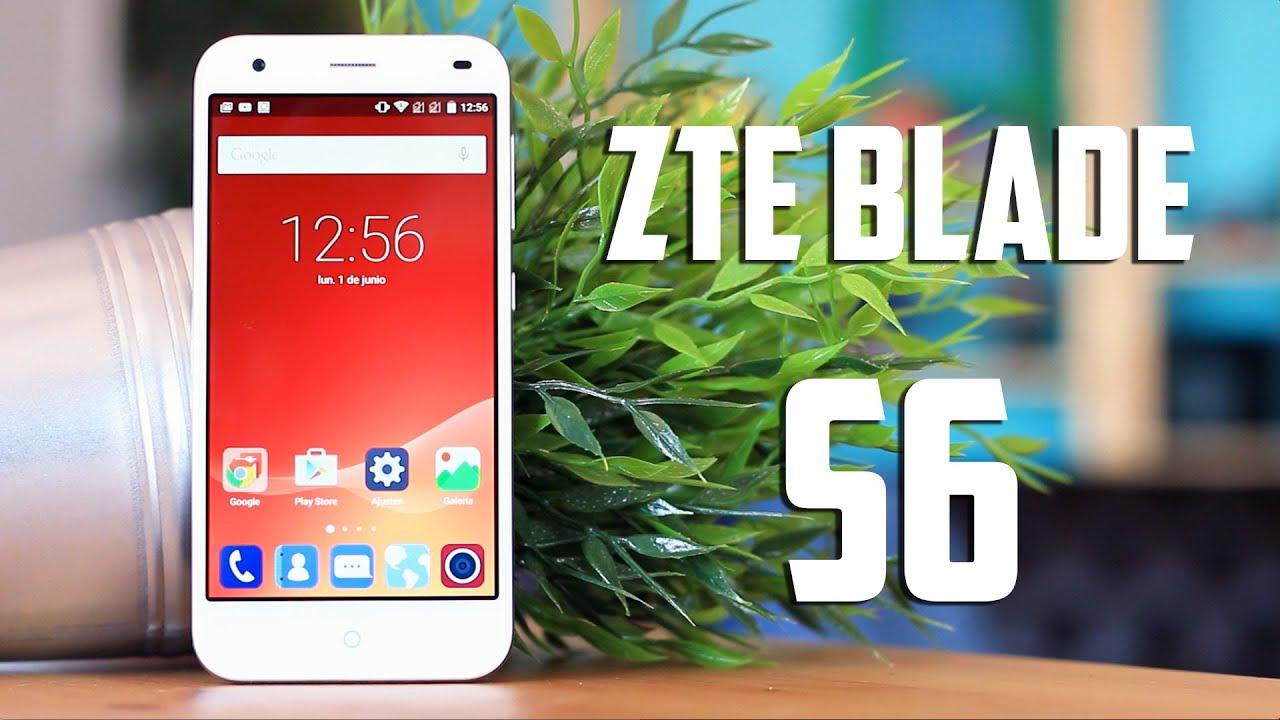 ZTE Blade S6, Review en español
