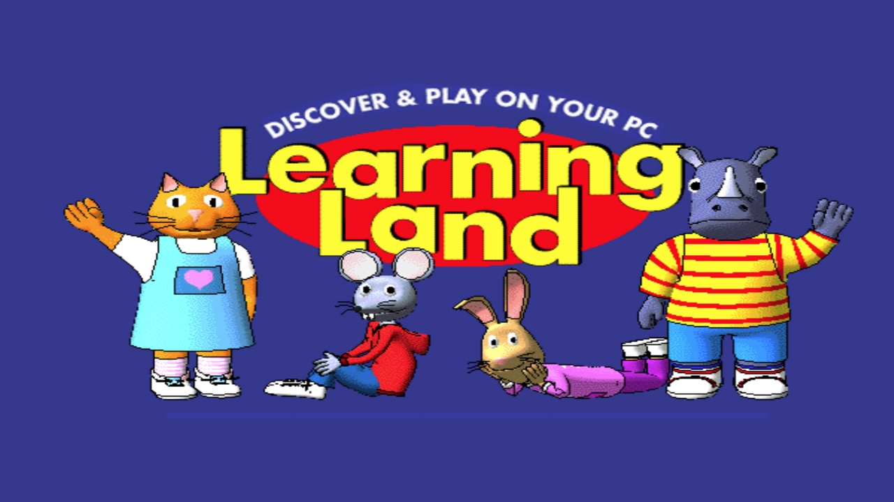 Learning Land 1 - At The Playground (Educational Game) - YouTube