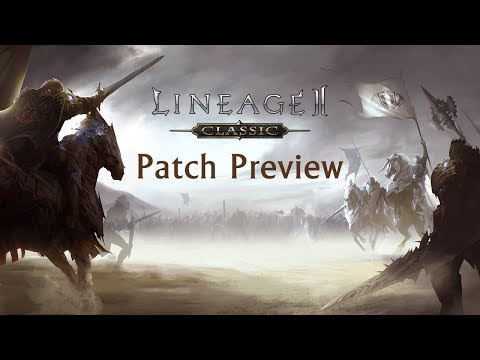 Lineage II Classic Patch Preview Livestream