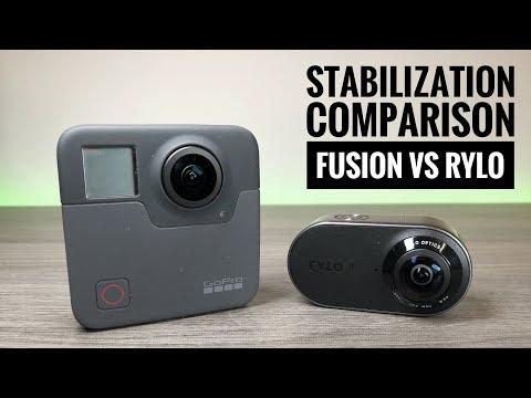 GoPro Fusion vs Rylo 360 Stabilization Comparison