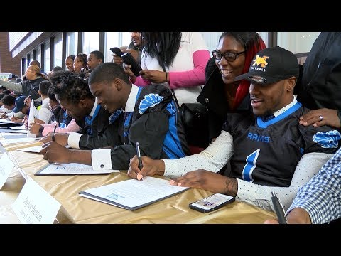 CMSD's National Signing Day 2018
