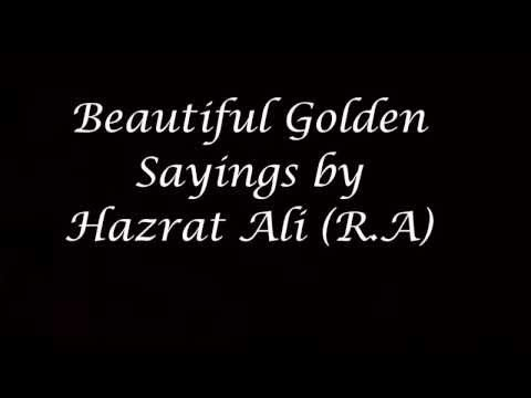 Hazrat Ali R A Quotes About Life Love And Friendship In Beautiful