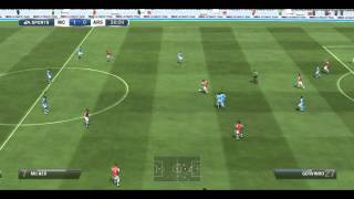FIFA 13 DEMO GAMEPLAY PC - Manchester city vs Arsenal
