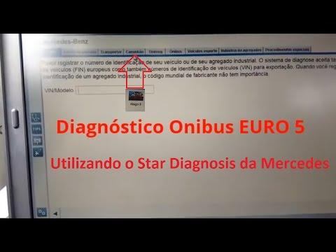 Diagnosticando Onibus EURO 5 com STAR DIAGNOSIS - XENTRY