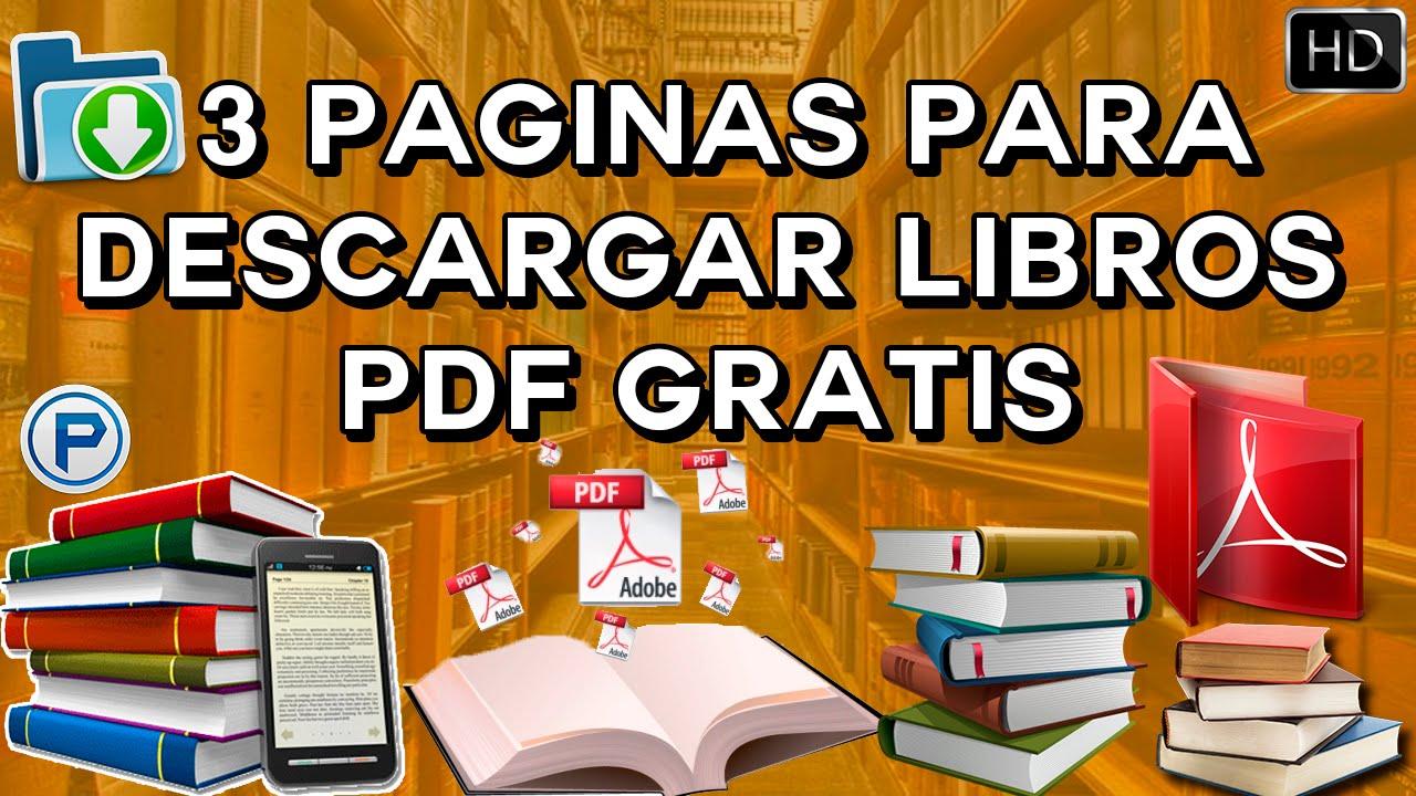 3 Páginas Para Descargar Libros Pdf Gratis En Español Pc Y Smartphone Fácil Sencillo 2016 Hd Youtube